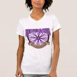 Paseo del cáncer pancreático para la curación camisetas