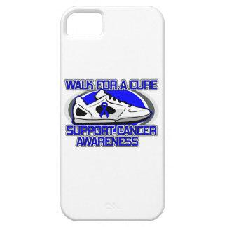 Paseo del cáncer rectal para una curación iPhone 5 Case-Mate protector