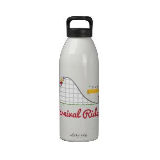 Paseo del carnaval botellas de agua reutilizables