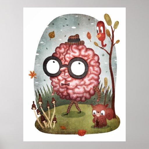 Paseo del cerebro impresiones