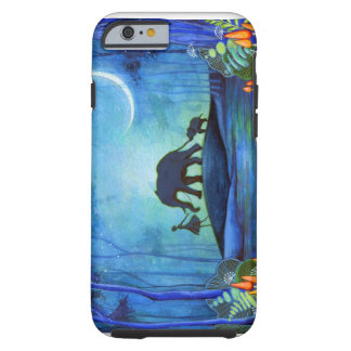 Paseo del elefante funda de iPhone 6 tough