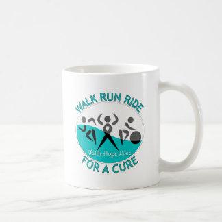Paseo del funcionamiento del paseo del cáncer de c taza de café