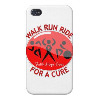 Paseo del funcionamiento del paseo del VIH del SID iPhone 4/4S Funda