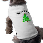 Paseo del navidad de Santa Camisetas De Perro