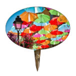 Paseo del paraguas decoraciones de tartas