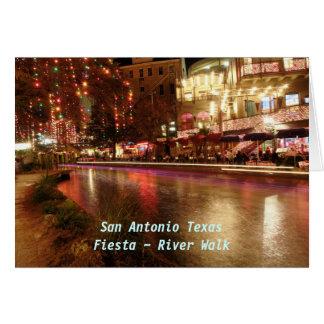 Paseo del río del ~ de la fiesta de San Antonio Te Felicitacion