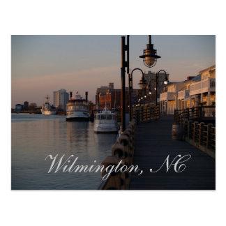 Paseo del río, Wilmington, NC Postales