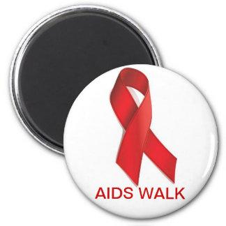 PASEO DEL SIDA IMÁN REDONDO 5 CM