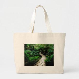 Paseo del tablero bolsas lienzo