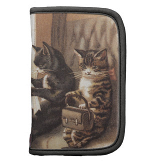 Paseo del tren del gatito planificadores