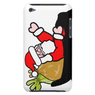 Paseo del trineo de Santa del dibujo animado iPod Touch Cobertura