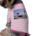 Paseo en la playa ropa para mascota