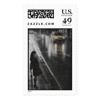 Paseo en los sellos de la lluvia