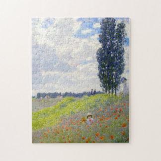 Paseo en prados en la bella arte de Argenteuil Puzzle