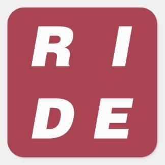 PASEO - etiqueta de la bici - personalizable