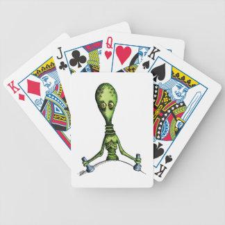 Paseo extranjero baraja de cartas