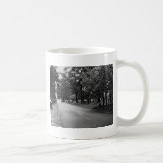 Paseo final taza de café