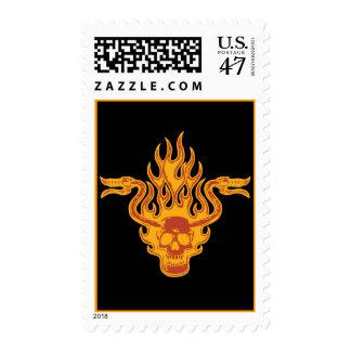 Paseo importado timbre postal
