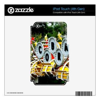 Paseo jubilado del carnaval calcomanía para iPod touch 4G