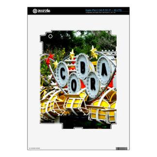 Paseo jubilado del carnaval iPad 3 pegatina skin