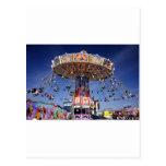 paseo justo del carnaval tarjeta postal