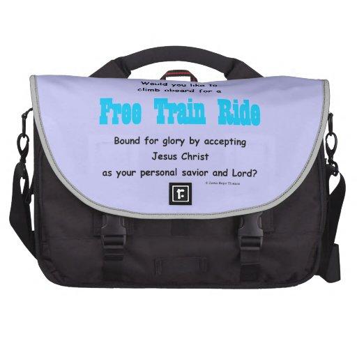 paseo libre del tren bolsas para portátil