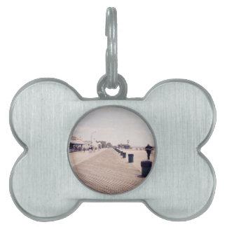 Paseo marítimo de Coney Island Placas Mascota
