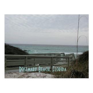 Paseo marítimo de la playa de Rosemary Postales