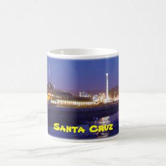 Paseo marítimo de Santa Cruz en la taza de la