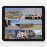 Paseo marítimo Mousepad de Atlantic City Tapete De Ratón