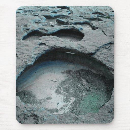 Paseo Mousepad de la luna Tapete De Ratón