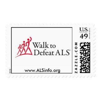 Paseo para derrotar el ALS Estampilla