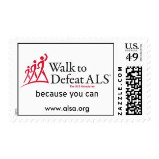 Paseo para derrotar el ALS Sello