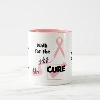 Paseo para la taza de la curación