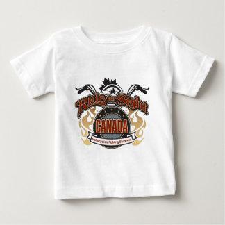 Paseo para la vista Saskatchewan Tee Shirts