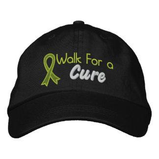Paseo para una curación - linfoma gorras de beisbol bordadas