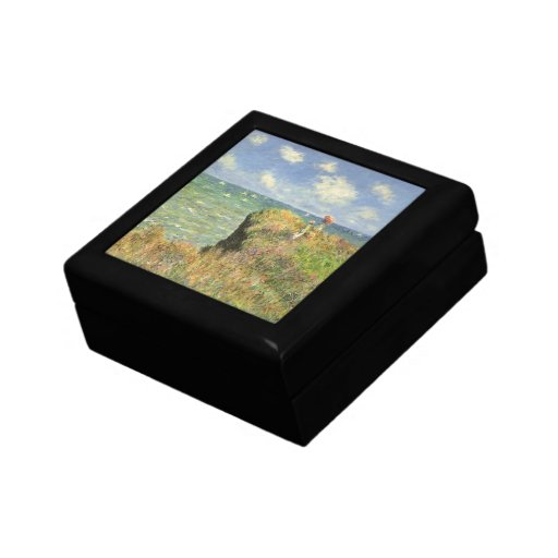 Paseo Pourville, Monet, impresionismo del Caja De Recuerdo
