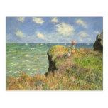 Paseo Pourville, Monet, impresionismo del Postal