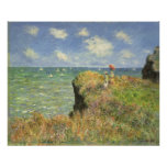 Paseo Pourville, Monet, impresionismo del Póster