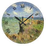 Paseo Pourville, Monet, impresionismo del Reloj