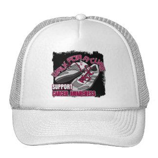 Paseo principal del cáncer del cuello para los zap gorras
