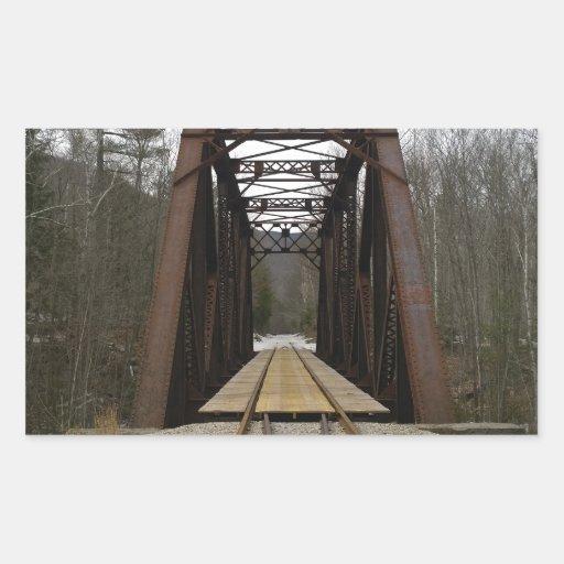 Paseo romántico del tren rectangular altavoces