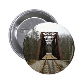 Paseo romántico del tren pin