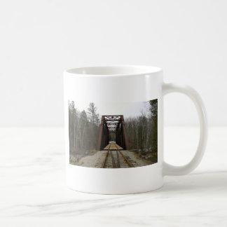 Paseo romántico del tren tazas