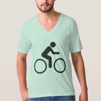 paseo simple de la bici de los pleasurs polera