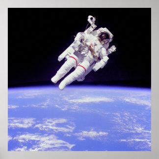 Paseo Untethered histórico del espacio Impresiones