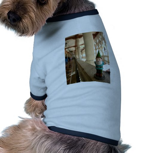 Paseo veneciano camiseta con mangas para perro