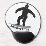 ¡Paseos de Bigfoot! Alfombrillas De Raton Con Gel