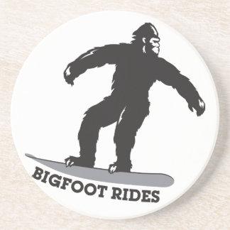 ¡Paseos de Bigfoot! Posavasos Personalizados
