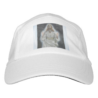 Paseos de Jesús en el gorra del punto del mar Gorra De Alto Rendimiento